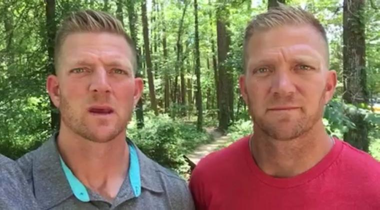 The Benham brothers