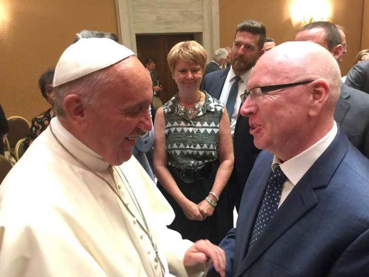 geoff tunnicliffe pope francis