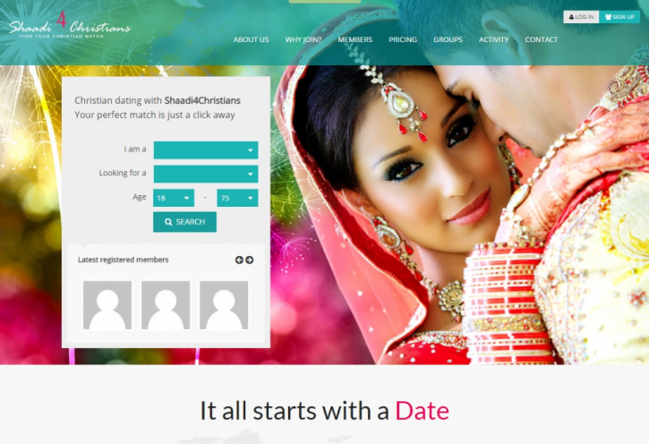 Newly created dating site