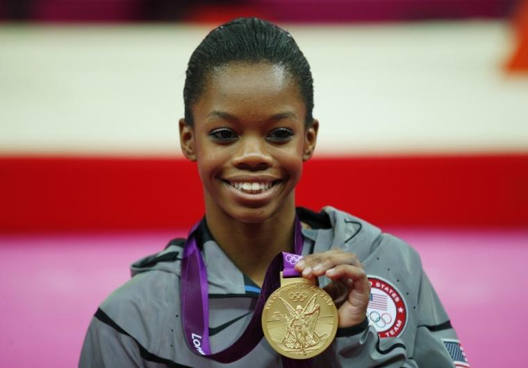Gold medallist Gabrielle Douglas