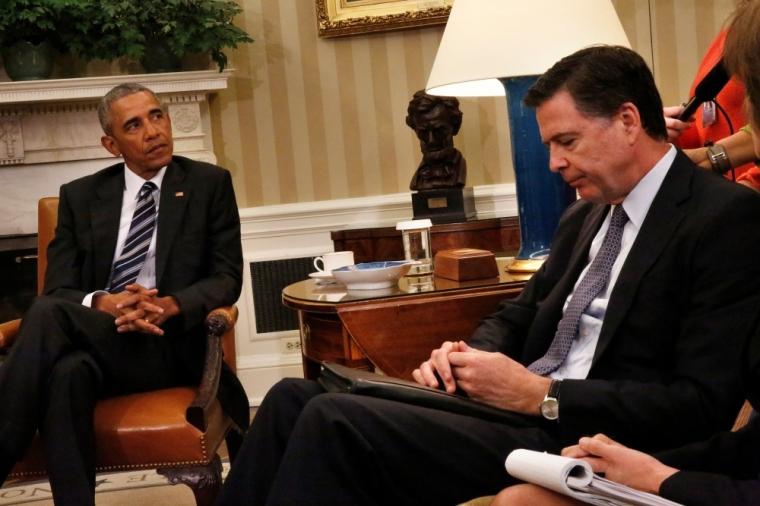Barack Obama, James Comey