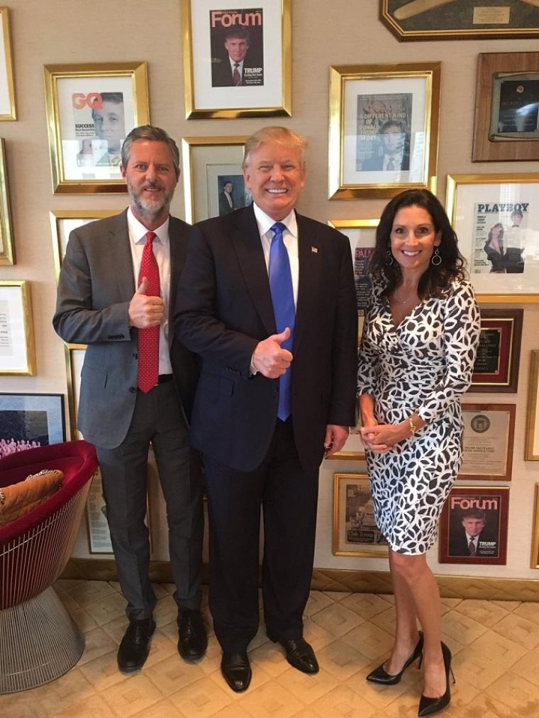 Trump and Falwells