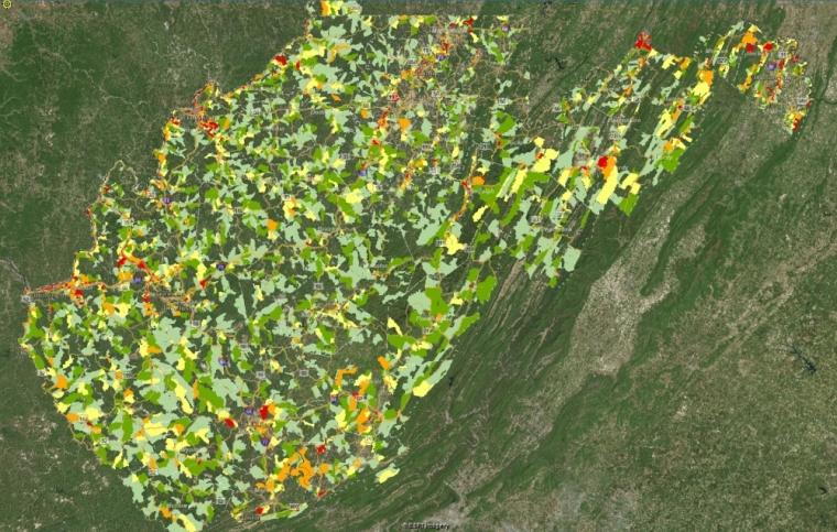 West Virgina Flood Maps