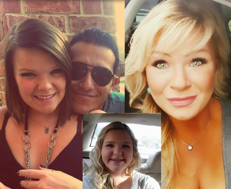 Taylor Sheats, Juan Sebastian Lugo, Christy Sheats, Madison Sheats
