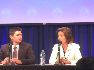 Rep. Vicky Hartlzer and Matt Sharp