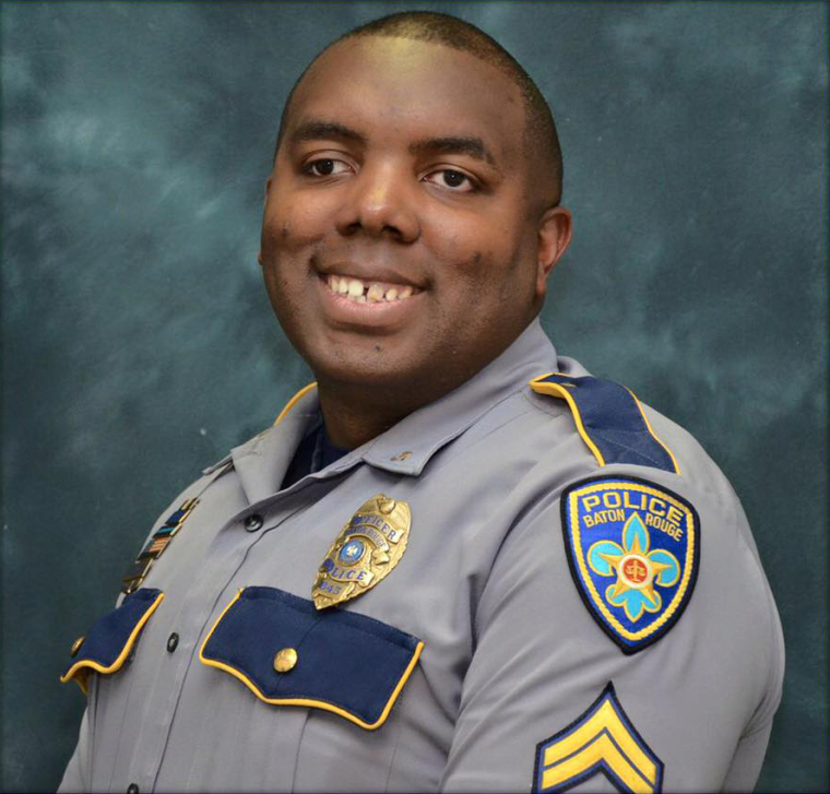 Baton Rouge Police Department officer Montrell Jackson