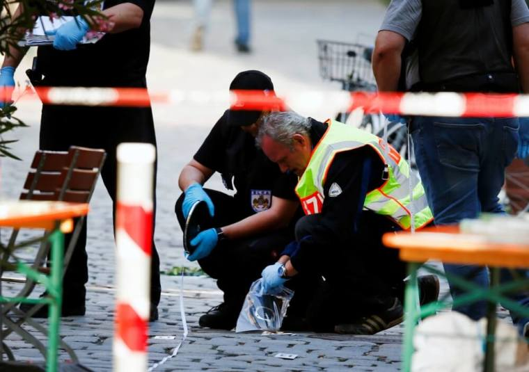 Germany suicide bomb attack