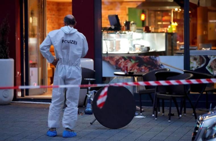 Germany machete killing