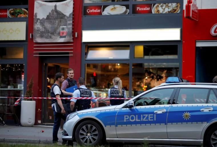 Germany machete attack