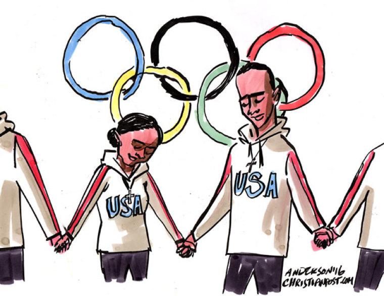 The Christian Athletes of Team USA