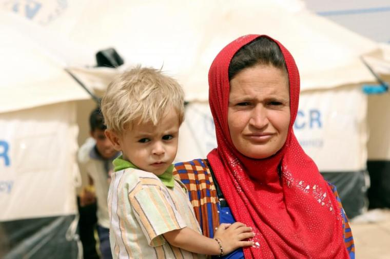 Iraq refugee camp