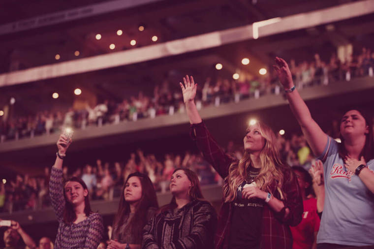 for king and country harvest crusade