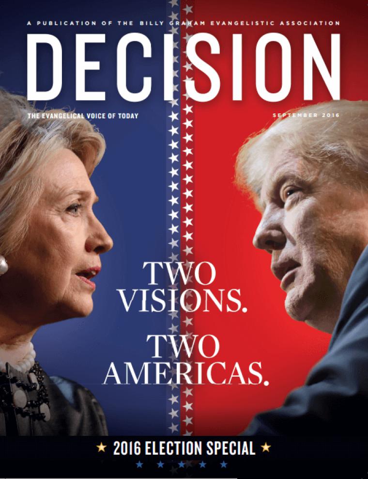 Decision Magazine 2016 voter guide