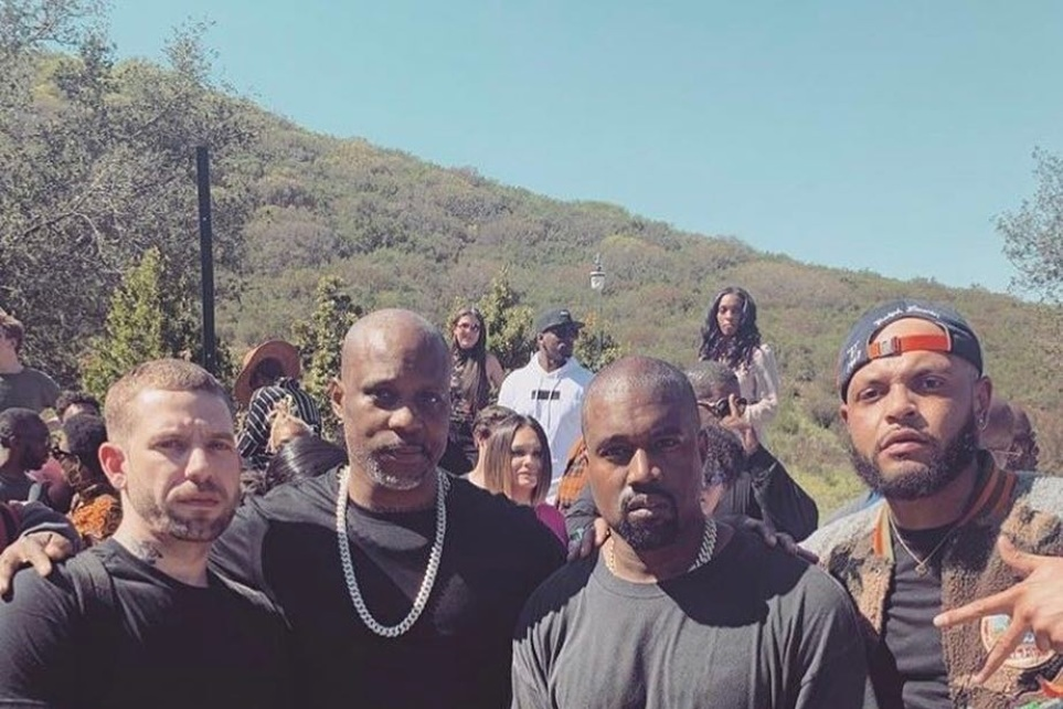 Rapper DMX delivers prayer about God's favor at Kanye West's growing 'Sunday Service'
