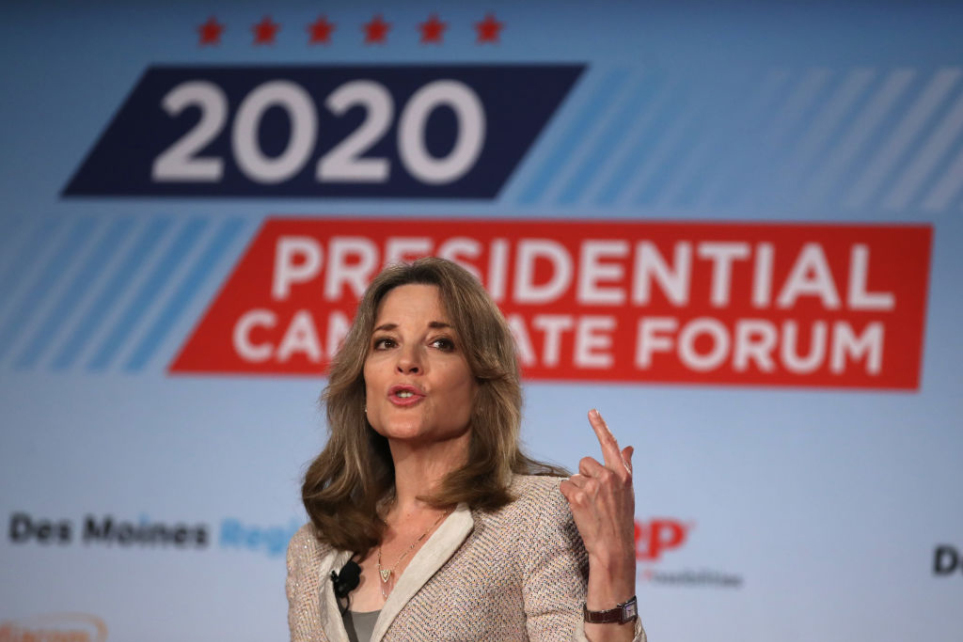 Former New Age writer on what Dem presidential candidate Marianne Williamson thinks about Christ