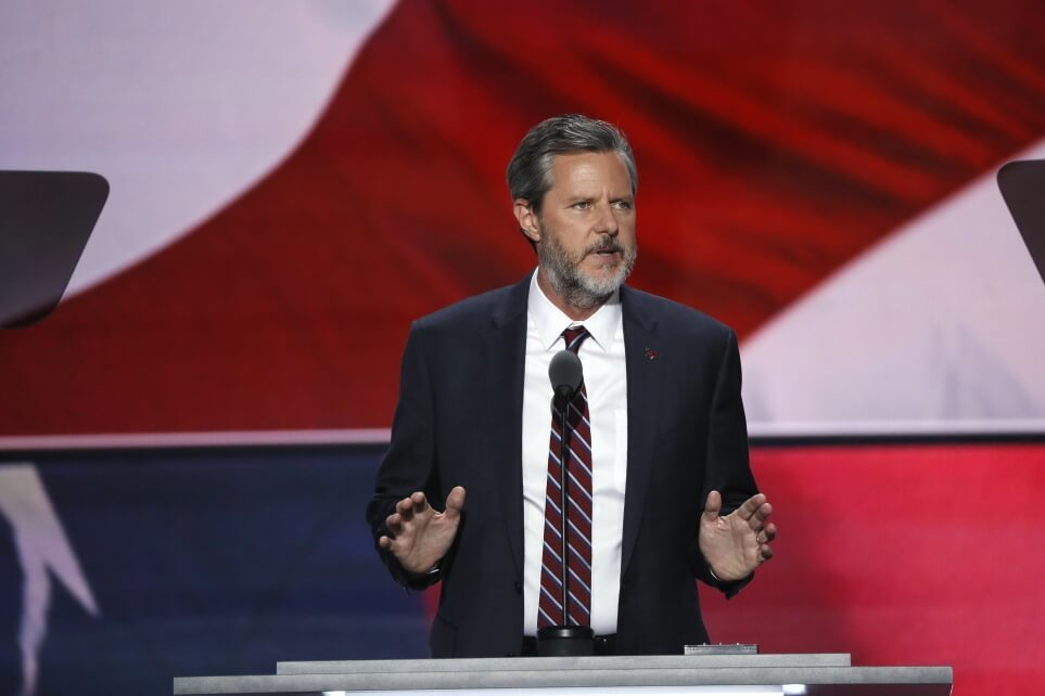 LU President Jerry Falwell Jr. says he was at Miami nightclub but photos were 'maybe' photo-shopped
