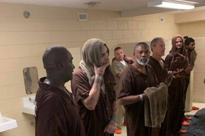 South Carolina inmates baptized behind bars: 'Jail can be the very beginning of the ultimate forever'