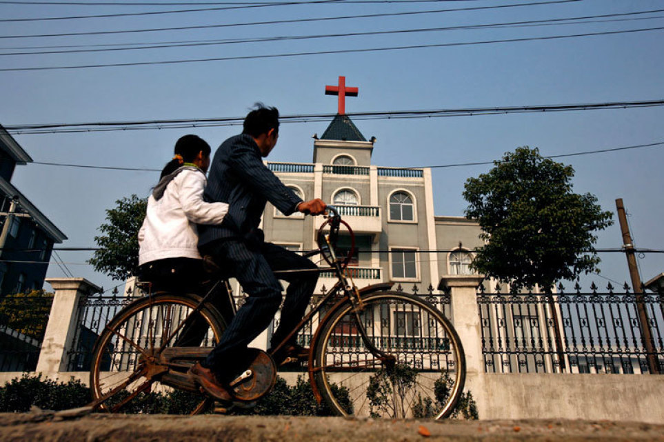 Face and fingerprint scanning installed in churches as China increases surveillance