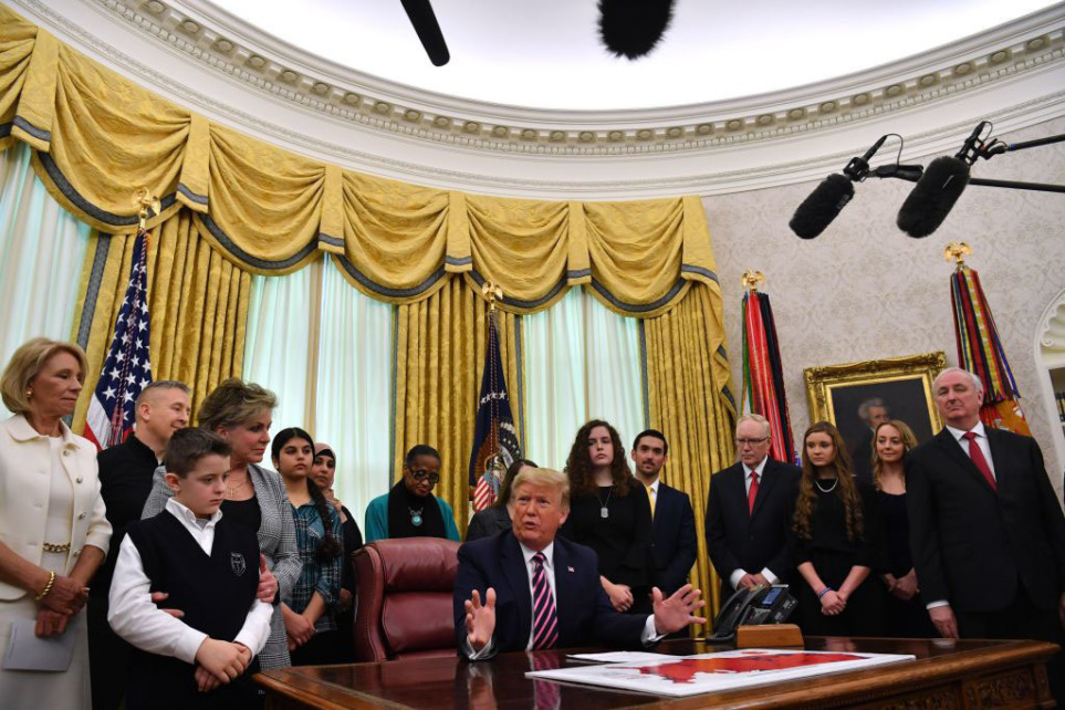 Trump announces school prayer guidance; 9 agencies draft religious freedom rules