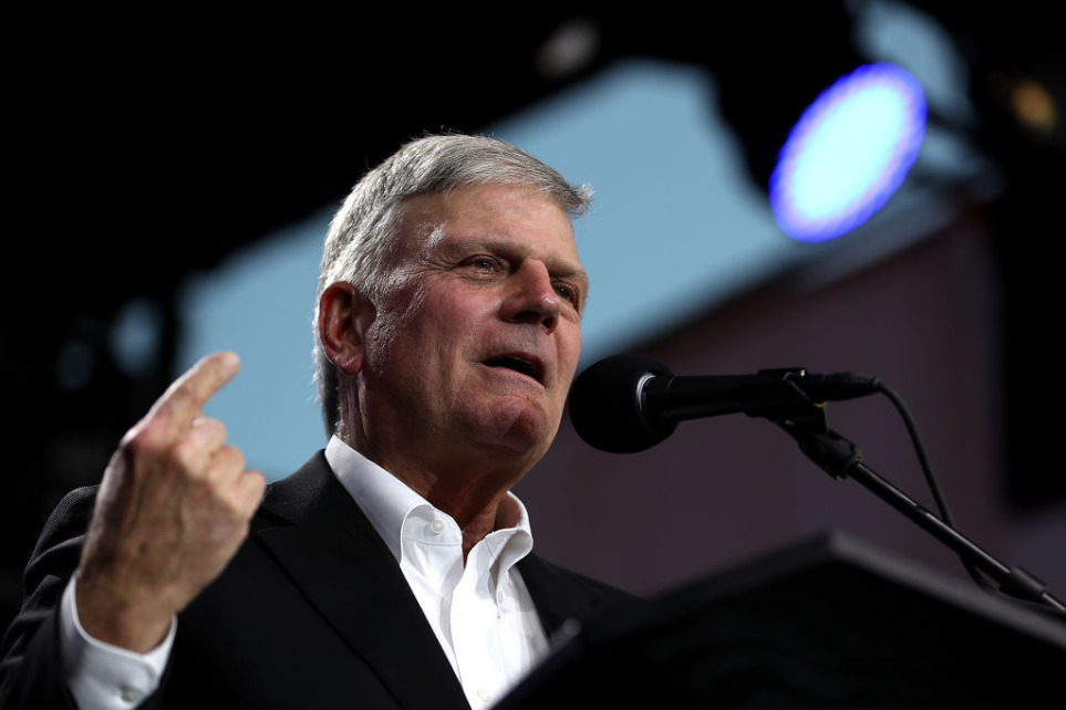 Franklin Graham says coronavirus pandemic is 'result of a fallen world'