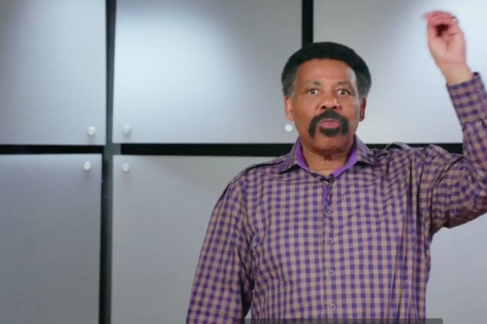 Tony Evans warns men are 'domesticated, neutered' as Satan seeks to destroy biblical manhood