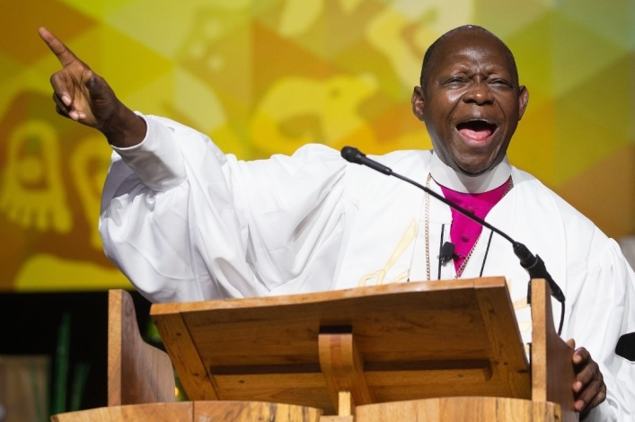 Man arrested for causing car accident that killed United Methodist bishop
