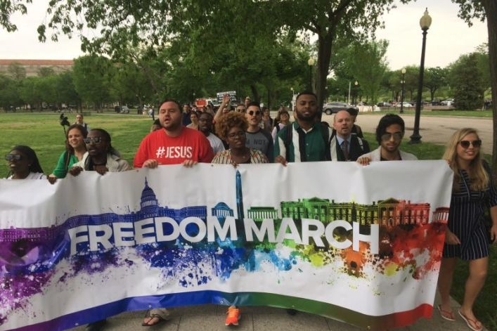 Freedom March to host intercessory weekend of testimonies, prayer for revival among LGBT across the US