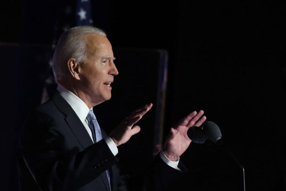 Joe Biden quotes Bible, hymn 'On Eagle's Wings' in victory speech