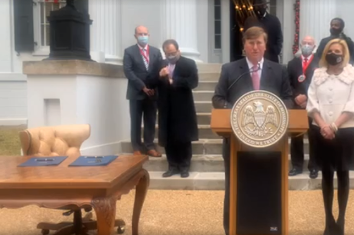 Mississippi governor declares Sunday a statewide 'day of prayer, humility and fasting'