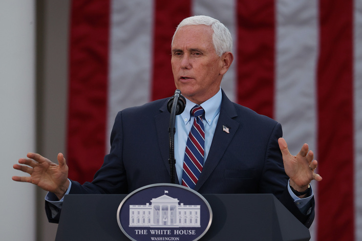 Mike Pence cites Bible in rejecting call to invoke 25th Amendment: This is a 'time to heal'
