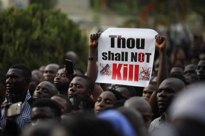 Nigeria's military executes 6 Christian soldiers framed for crime, human rights leaders say
