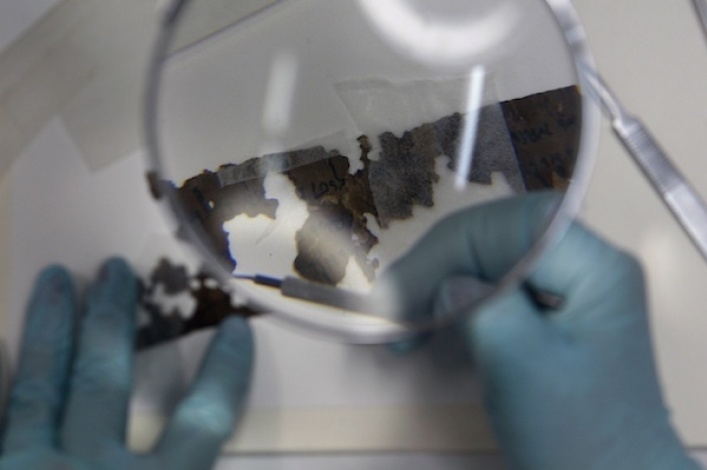 Israeli archaeologists discover biblical scroll fragments for the first time in 60 years