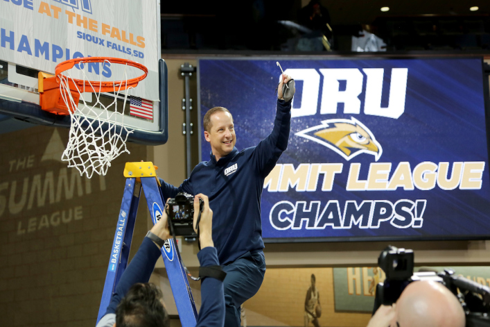 ORU coach and seminary grad Paul Mills sees the basketball court as his mission field