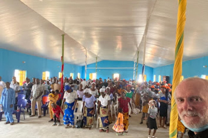 Nigerian church destroyed by Fulani rebuilt with help of American pastor: It brings 'healing and hope'