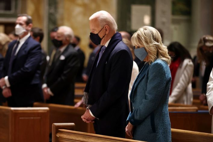 Biden's National Day of Prayer proclamation excludes the word 'God'