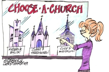 Church Isn't a Consumer Item!