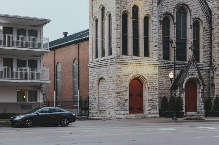 In Louisville, historic churches overlooked