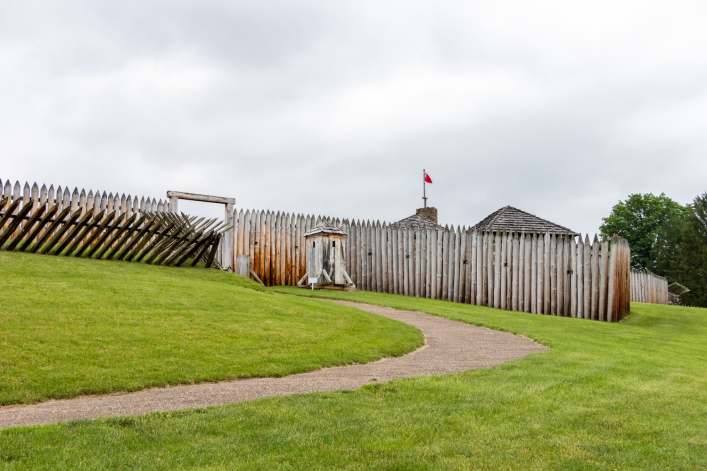 In Pennsylvania, forgotten forts and George Washington