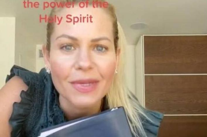 Candace Cameron Bure apologizes for TikTok Bible post fans blasted as 'weird, seductive'
