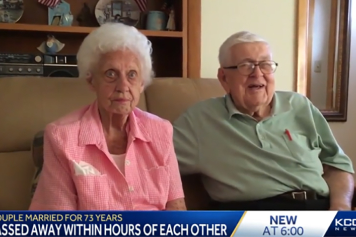 Christian man prays for Jesus to take him home after wife of 73 years passes away, dies 3 hours later