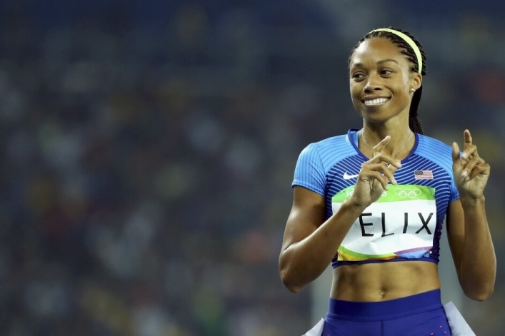 Allyson Felix becomes most decorated female Olympian ever, thankful for 'God's grace'