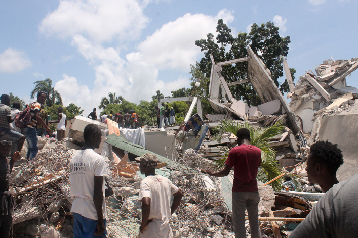 Haiti earthquake death toll rises to nearly 1,300, at least 5,700 injured; Christian aid groups provide relief