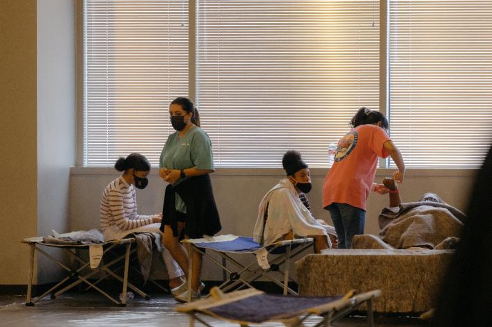 Joel Osteen's Lakewood Church shelters over 100 evacuees of Hurricane Ida