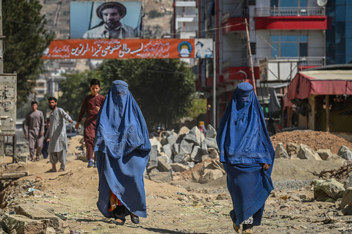 UN, human rights groups condemn Taliban's violent crackdown on women-led protests, journalists