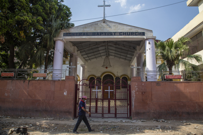 Hindu mob brutally attacks pastor summoned to police station over claims of 'false' conversions
