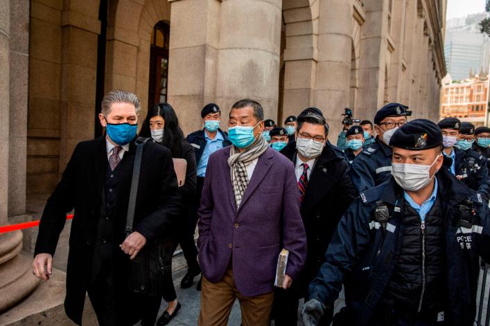 Jailed Hong Kong media mogul Jimmy Lai honored at National Catholic Prayer Breakfast