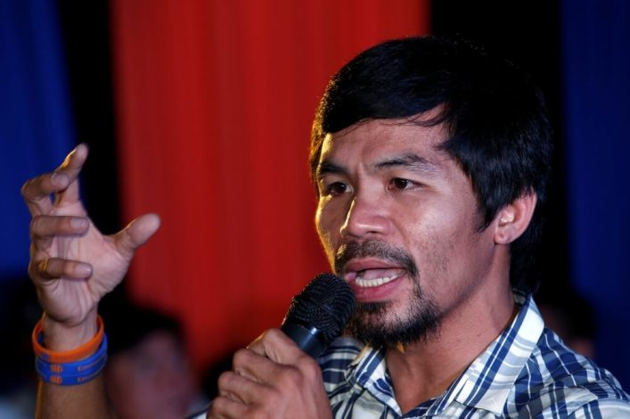 Manny Pacquiao to run for president of Philippines, says anything is possible with the Lord