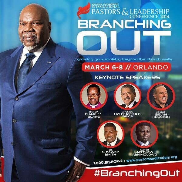 Hillsong's Brian Houston, COGIC Bishop Charles E  Blake to Join TD