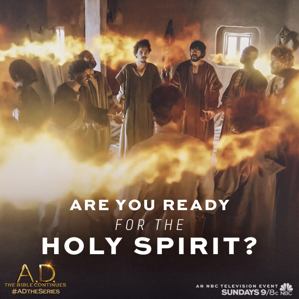 New A D The Bible Continues Clip Reveals The Coming Of The Holy