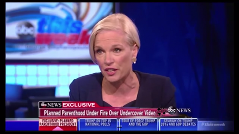 Image result for cecile richards saying cmp videos fake